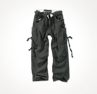 Брюки Vintage Fatigues Trousers Black
