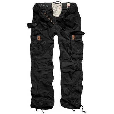 Брюки Premium Vintage Trousers Black