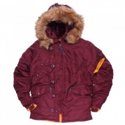 Аляска HUSKY MAROON/ORANGE